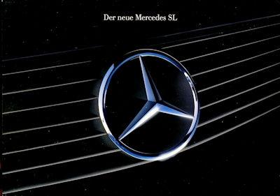 Mercedes-Benz Der neue SL Prospekt 8.1989