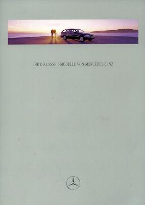 Mercedes-Benz C-Klasse T-Modelle Prospekt 1997 0