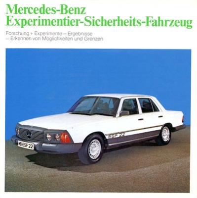 Mercedes-Benz Sicherheit Prospekt 6.1973 0