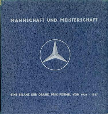 Hans Bretz Mannschaft und Meisterschaft Eine Bilanz der Grand-Prix-Formel 1934-1937