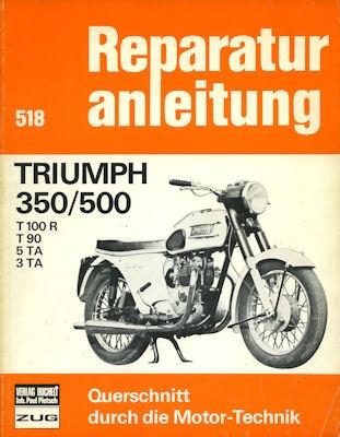Triumph 350 / 500 Reparaturanleitung 1970er Jahre