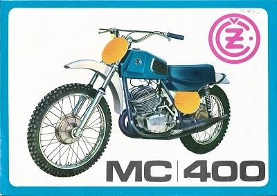 CZ MC 400 Prospekt 1970er Jahre-russ