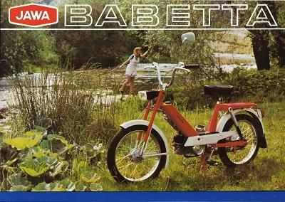 Jawa Babetta Prospekt 1970er Jahre