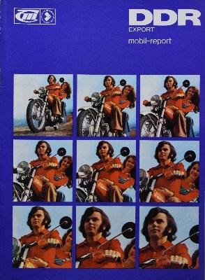 IFA Mobil-Report DDR Export Zeitschrift 1975