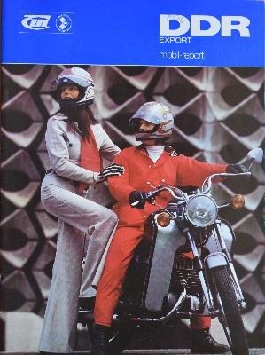IFA Mobil-Report DDR Export Zeitschrift 1976