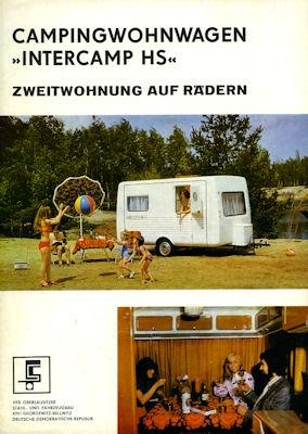 Wohnwagen Intercamp HS Prospekt 1974
