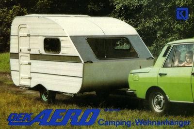 Wohnwagen OEK Aero Prospekt 1986