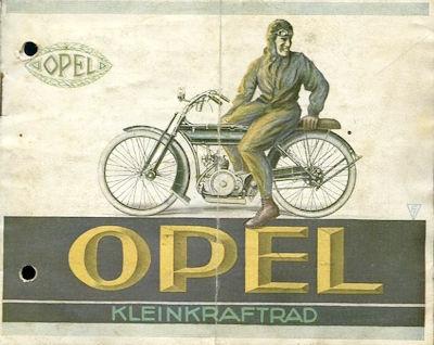Opel Kleinkraftrad Prospekt 10.1924