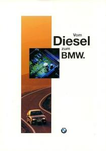 BMW Diesel Prospekt 1995