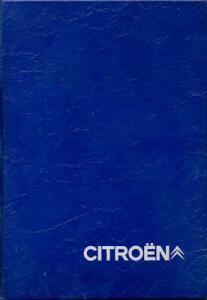 Citroen CX Mappe mit Bedienungsanleitung ca. 1975