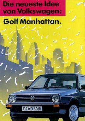 VW Golf 2 Manhattan Prospekt ca. 1989 0