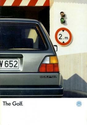 VW Golf 2 Prospekt 1.1987 e 0