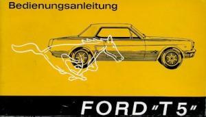 Ford Mustang T 5 Bedienungsanleitung 1965