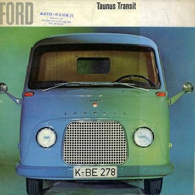 Ford Taunus Transit Prospekt ca. 1966 0
