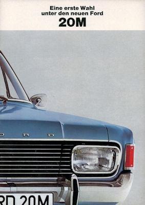 Ford 20 M Prospekt 3 1968 0
