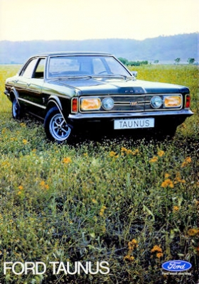 Ford Taunus Prospekt ca. 1971