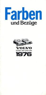 Volvo 240 260 Farben 1976