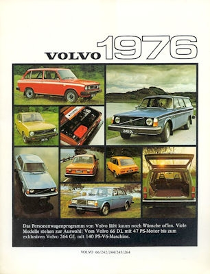 Volvo Programm 1976