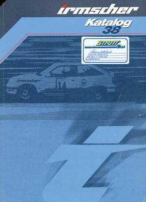 Opel Irmscher Katalog 38 1984