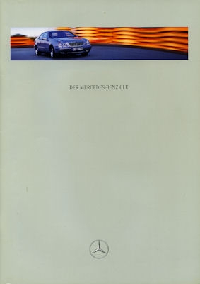 Mercedes-Benz CLK Coupé Prospekt 9.1998 0