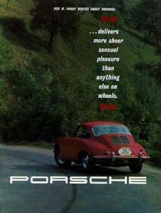 Porsche 356 B Prospekt ca. 1962 e