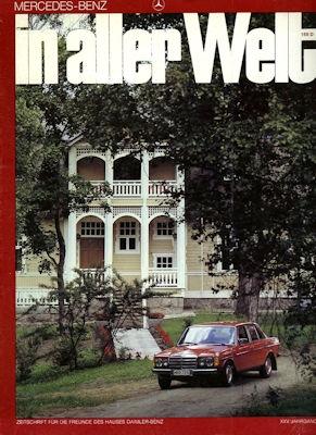 Mercedes-Benz In aller Welt Nr. 168 6.1980 0