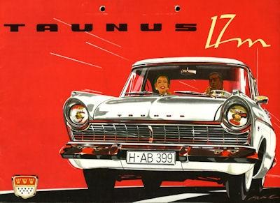 Ford Taunus 17 M P 2 Prospekt ca. 1958 0