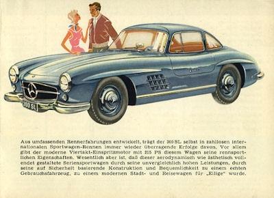 Mercedes-Benz Programm ca. 1956 Reprint 1