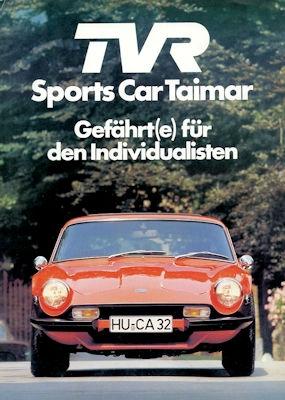 TVR Taimar Prospekt 10.1977