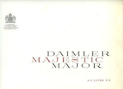 Daimler Majestic Major Prospekt 1960er Jahre