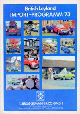 British Leyland Import Programm 1973