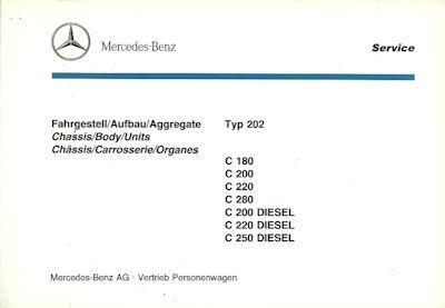 Mercedes-Benz C-Klasse Ersatzteilliste 1994