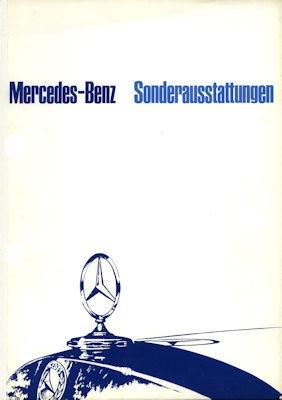 Mercedes-Benz Sonderausstattung Prospekt 5.1966