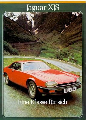 Jaguar XJS Prospekt 1980