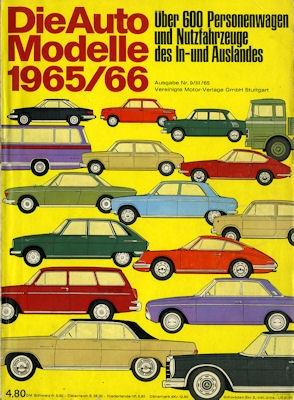 Auto Modelle 1965/66 Nr. 9