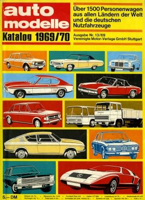 Auto Modelle 1969/70 Nr.13