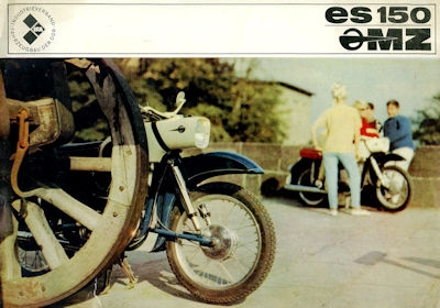 MZ ES 150 Prospekt 1967