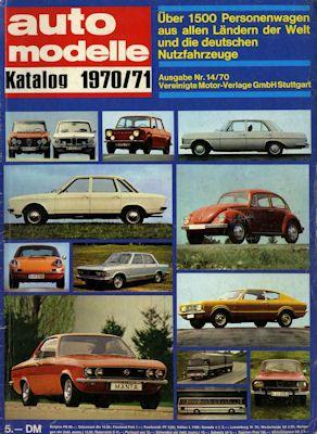Auto Modelle 1970/71 Nr.14