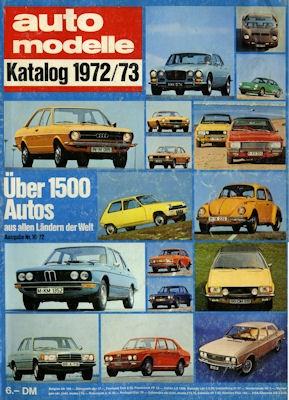 Auto Modelle 1972/73 Nr.16