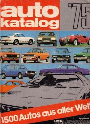 Auto Katalog 1975 Nr.18