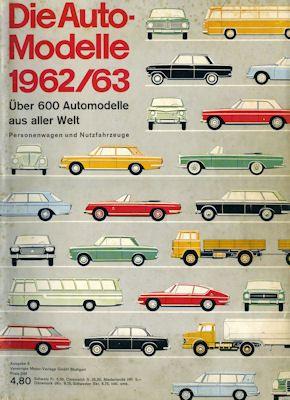 Auto Modelle 1962/63 Nr. 6