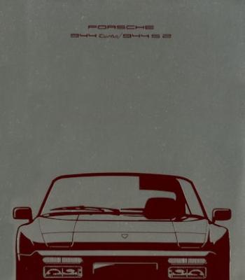 Porsche 944 Turbo / S2 Prospekt 8.1989
