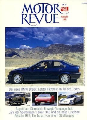 Motor Revue Jahresausgabe 1991