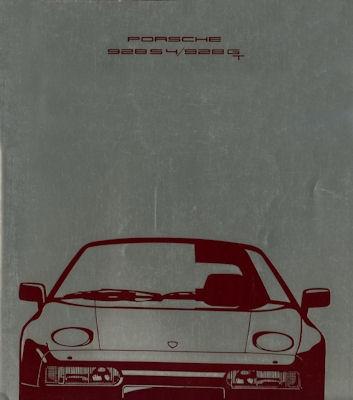 Porsche 928 S2 / GT Prospekt 8.1989