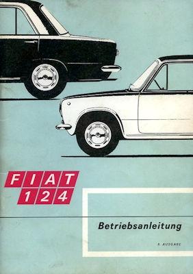 Fiat 124 Bedienungsanleitung 1969