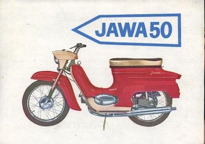 Jawa 50 Prospekt ca. 1970
