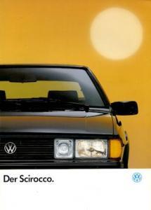 VW Scirocco 2 Prospekt 1.1992
