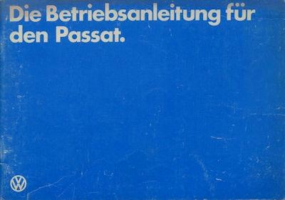 VW Passat Bedienungsanleitung 6.1981