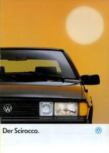 VW Scirocco 2 Prospekt 1.1990
