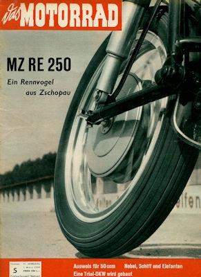 Das Motorrad 1959 Heft 5